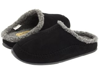 Deer Stags Nordic Mens Slippers (Black)