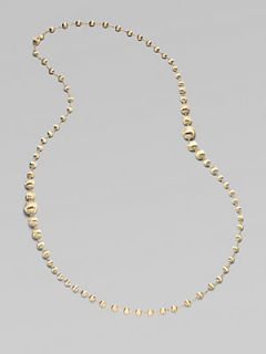 Marco Bicego 18K Yellow Gold Bead Necklace   Yellow Gold