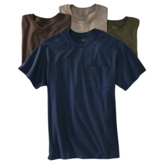 Fruit of the Loom Mens 4 pack Pocket Tee   Assorted Colors