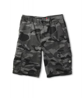 Quiksilver Kids Sue Fley Camo Walkshort Boys Shorts (Gray)