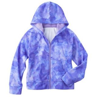 C9 by Champion Girls Tech Fleece Full Zip Hoodie   Zen S