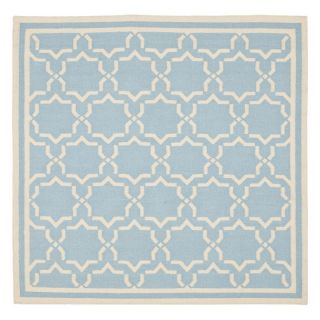 Safavieh Dhurri DHU545B 10 Area Rug   Light Blue / Ivory   DHU545B 4, 4 x 6 ft.