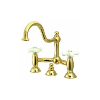 Elements of Design ES3912PX Chicago Two Handle Lavatory Faucet