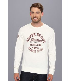Lucky Brand Indian Moto Runyon Raglan Mens T Shirt (Pink)