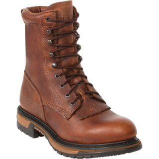 Rocky Ride 8in. Lacer Western Boot   Brown, Size 9, Model# 2722