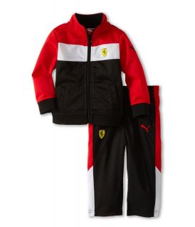 Puma Kids Ferrari Track Suit Set Boys Sets (Black)
