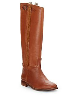 Harmony Leather Knee High Boots
