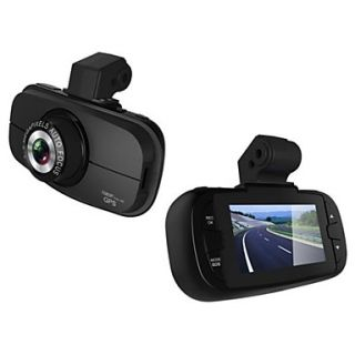 2.7 Inch 140 Degree Wide Angle View Car DVR Super Night Vision with Built in Microphone