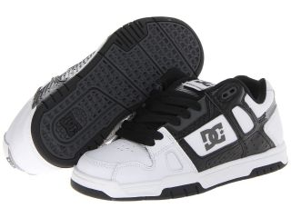 DC Stag Mens Skate Shoes (White)