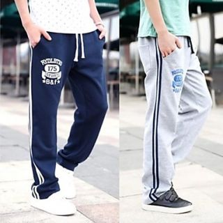 Mens Fashion Casual Sport Long Straight Pants