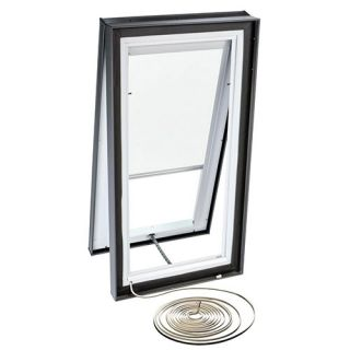 Velux RMC 3434 1028 Skylight Blind, Electric Powered Light Filtering for Velux VCE 3434 Models White