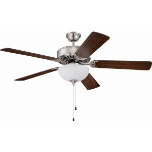 Ellington Fans ELF E201BNK Pro 201 52 Ceiling Fan Motor only with Optional Ligh