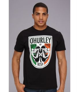Hurley Luck Premium Tee Mens T Shirt (Black)