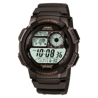 Casio Mens Sport Watch   Black   AE1000W 1AVCF