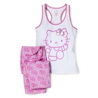 Hello Kitty Juniors PJ Set   Pink M(7 9)