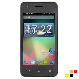 CUBOT GT72  4.0 Inch 800480 Touchscreen Android 4.2(Dual Core 1.2GHz,GPS,Dual Band 900/1800)