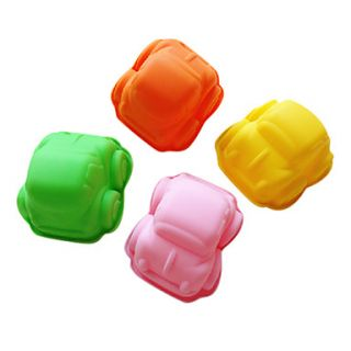 Mini Car Shaped Silicone Cake Mold(Random Color)