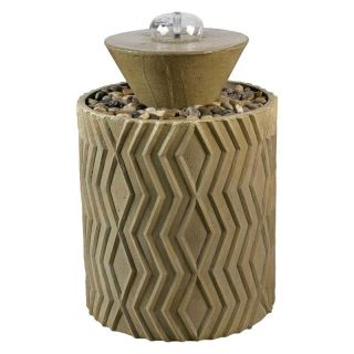 Kenroy Home Excaret Indoor/Outdoor Floor Fountain Multicolor   50185LT