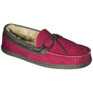 Mens Dave Moccasin Slipper   Red 9