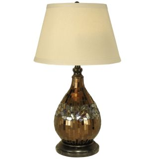 Dale Tiffany Mosaic Glass Dome Table Lamp
