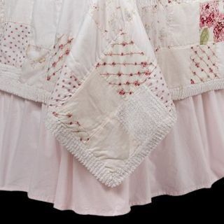 Simply Shabby Chic Pink Bedskirt   Twin