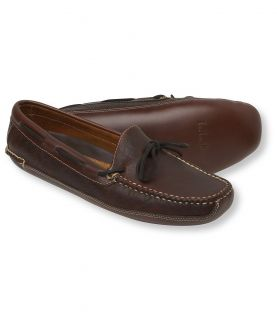 Mens Double Sole Slippers, Bison Leather Lined