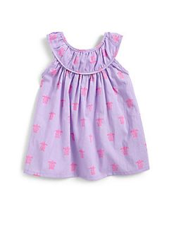 Egg Baby Toddlers & Little Girls Voile Babydoll Top   Lavender