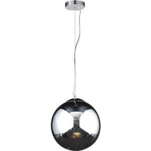 PLC Lighting PLC 14853 PC CFL Mercury 1 Light Pendant Mercury Collection