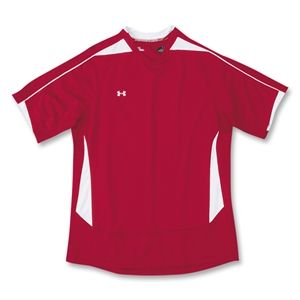 Under Armour Womens Elite Soccer Jersey (Red)