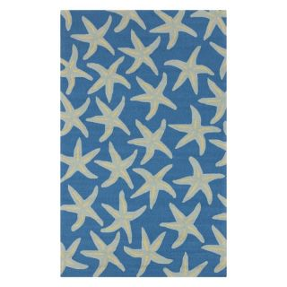 Surya Rain RAI113 Indoor / Outdoor Area Rug Peacock Blue   RAI1137 268, 2.5 x 8