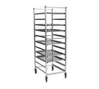 Eagle Group Full Height Mobile Utility Rack For (20) 18x26 Trays, Bolted Aluminum Frame