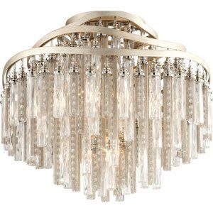 Corbett Lighting COR 176 34 Chimera 4 Light Ceiling Semi Flush