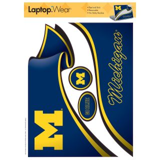 Michigan Wolverines Laptop Cover