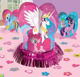 My Little Pony Friendship Magic Table Decorating Kit