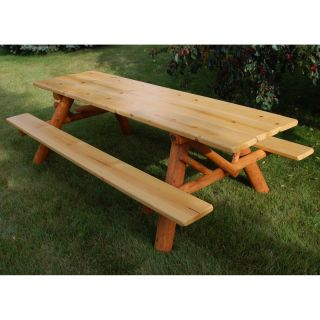 Moon Valley Cedar Works 8 ft. Picnic Table Kit   M800 AMBER OUTDOOR