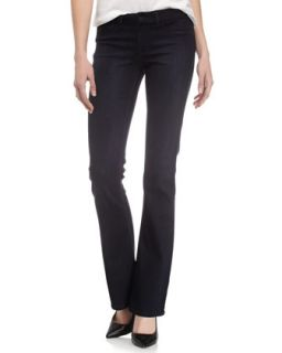Slim Boot Cut Jeans, Dark Blue