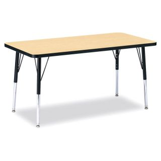 Jonti Craft Ridgeline Rectangle Activity Table Oak   6408JCA210, 60L x 30W