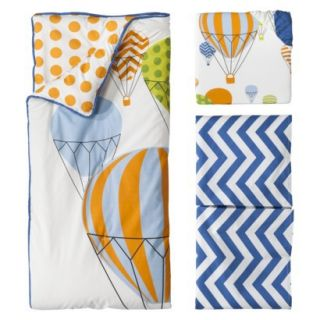 Hot Air Balloon 3pc Crib Bedding Set