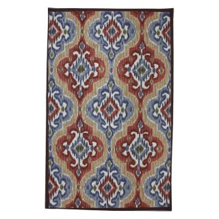 Mohawk Home Mystic Ikat Primary Indoor/Outdoor Rug Multicolor   11737 490