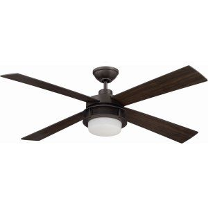 Ellington Fans ELF UBR52ESP4 Urban Breeze 52 Ceiling Fan with Integrated Light