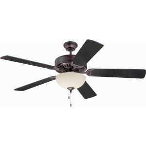 Ellington Fans ELF E202OB Pro 202 52 Ceiling Fan Motor only with Optional Light