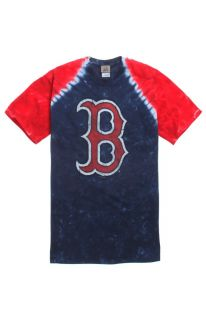 Mens New World Tee   New World Red Sox Tie Dye T Shirt
