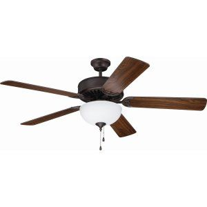 Ellington Fans ELF E207ABZ Pro 207 52 Ceiling Fan Motor only with Optional Ligh