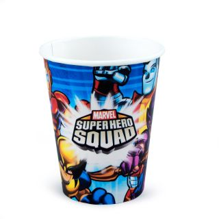 Marvel Super Hero Squad 9 oz. Paper Cups